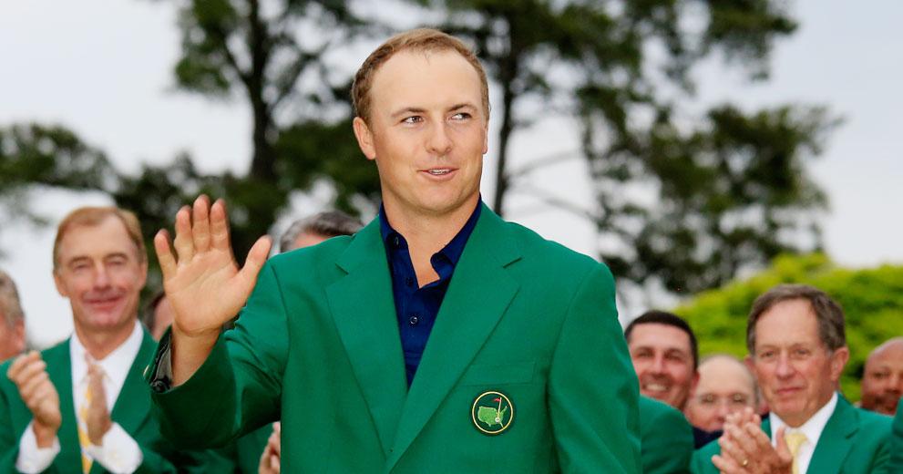 美国大师赛诞生新冠军 斯皮思首穿绿夹克