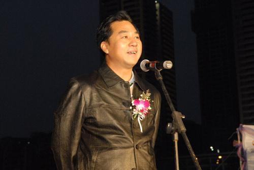 图文-俱乐部联赛总决赛欢迎晚宴张小宁主任致词