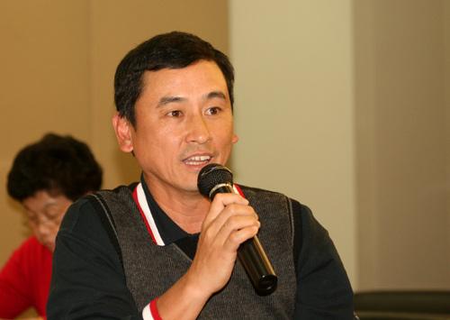 图文-别克俱乐部联赛工作会议广西高协苏放