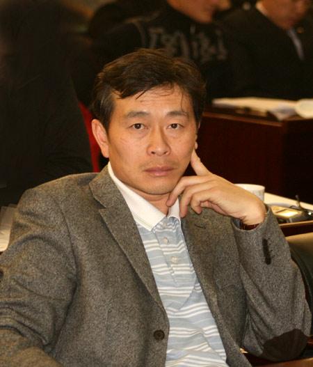 图文-别克俱乐部联赛工作会议北京高协范越