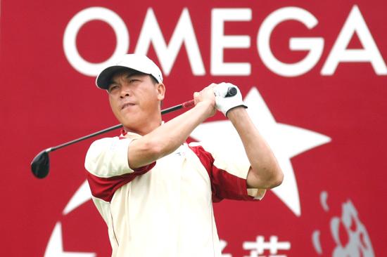 图文-欧米茄中巡赛广州锦标赛张连伟冲击榜首