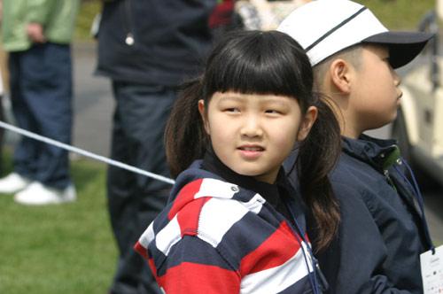 图文-百龄坛冠军杯决赛轮花絮小美女观众