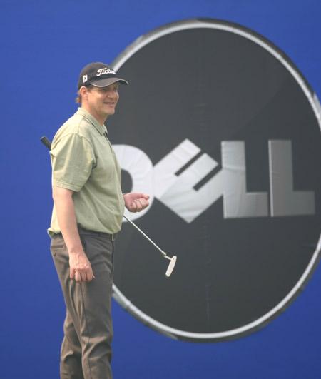 图文-戴尔高尔夫球锦标赛配对赛吉姆
