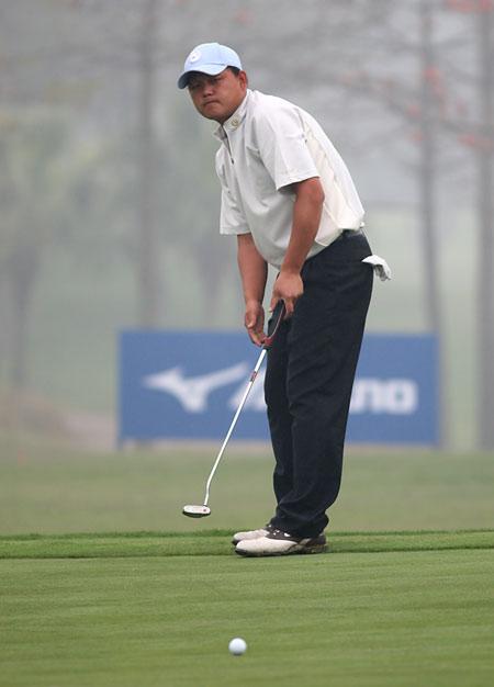 图文-中巡赛戴尔锦标赛第三轮陈小马