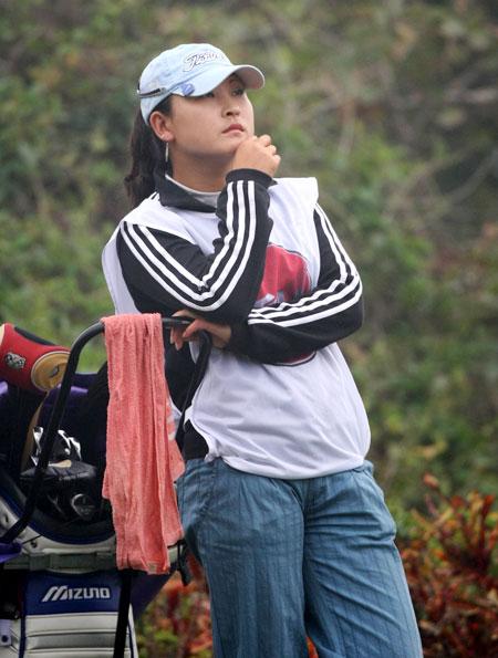 图文-中巡赛戴尔锦标赛决赛轮杨涛丽