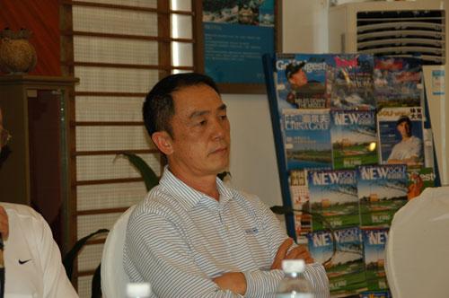 图文-高尔夫俱乐部品牌研讨会南海桃园李维景