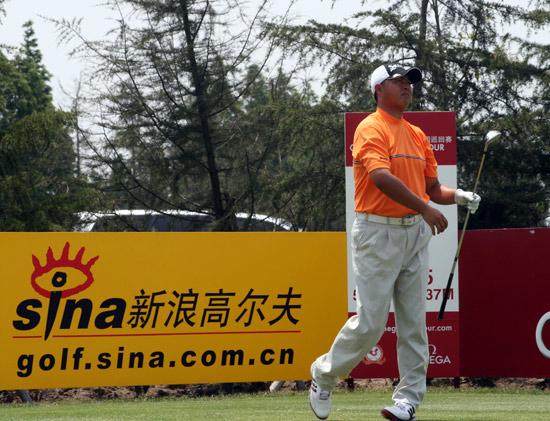 图文-上海锦标赛第三轮黄明杰与女子选手同组