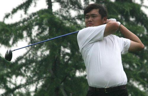 图文-索菲特锦标赛第二轮付泰