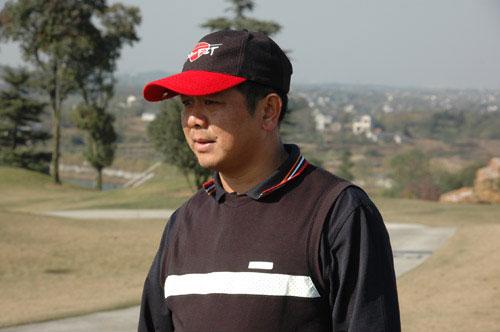 图文-美津浓高尔夫订货会厦门百龙汇刘正鸿