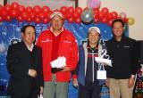 图文-2008北京龙熙温泉年度杯为会员组亚军颁奖
