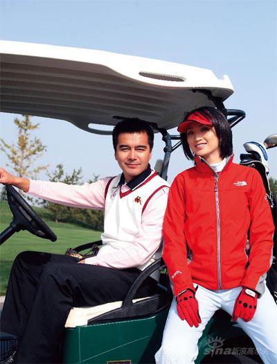 图文-许亚军张澍的高球故事一起搭上高尔夫快车