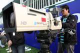 图文-VOLVO中国公开赛次轮电视转播工作人员