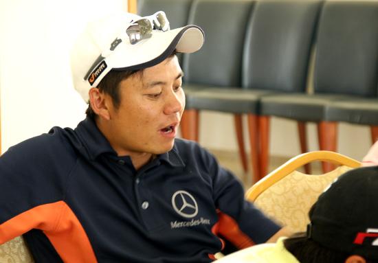 图文-Monday高尔夫训练赛移师北京黄永欢