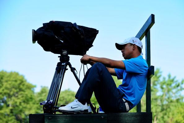 图文-2009PGA锦标赛第二轮 比赛电视直播尚未