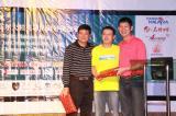 图文-中国球队海外赛颁奖很幸运获奖了