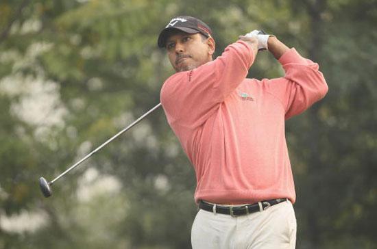图文-阿凡塔名人赛第二轮印度名将米哈辛