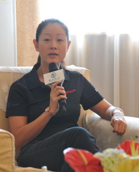 图文-半岛云邸杯fgt巡回赛 常熟史力胜代表徐一菲