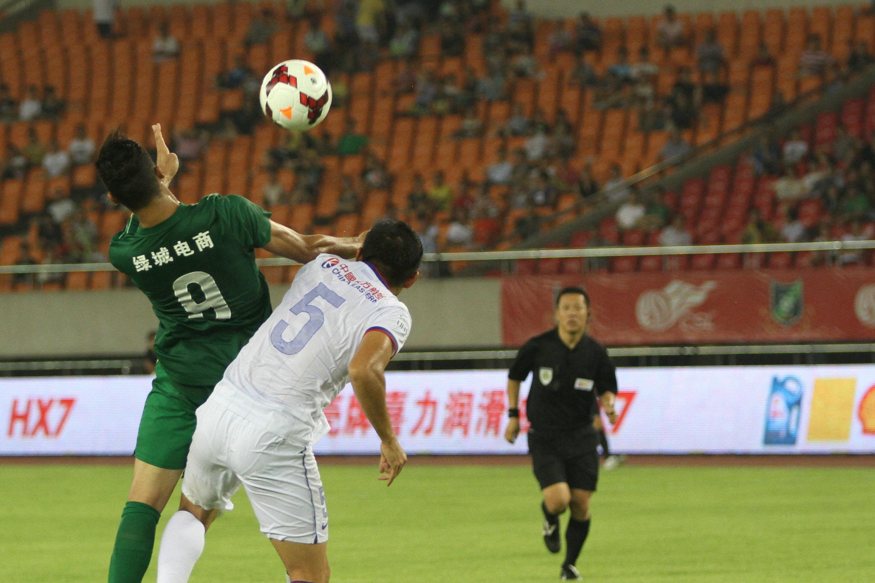 杭州绿城VS上海申花(3)