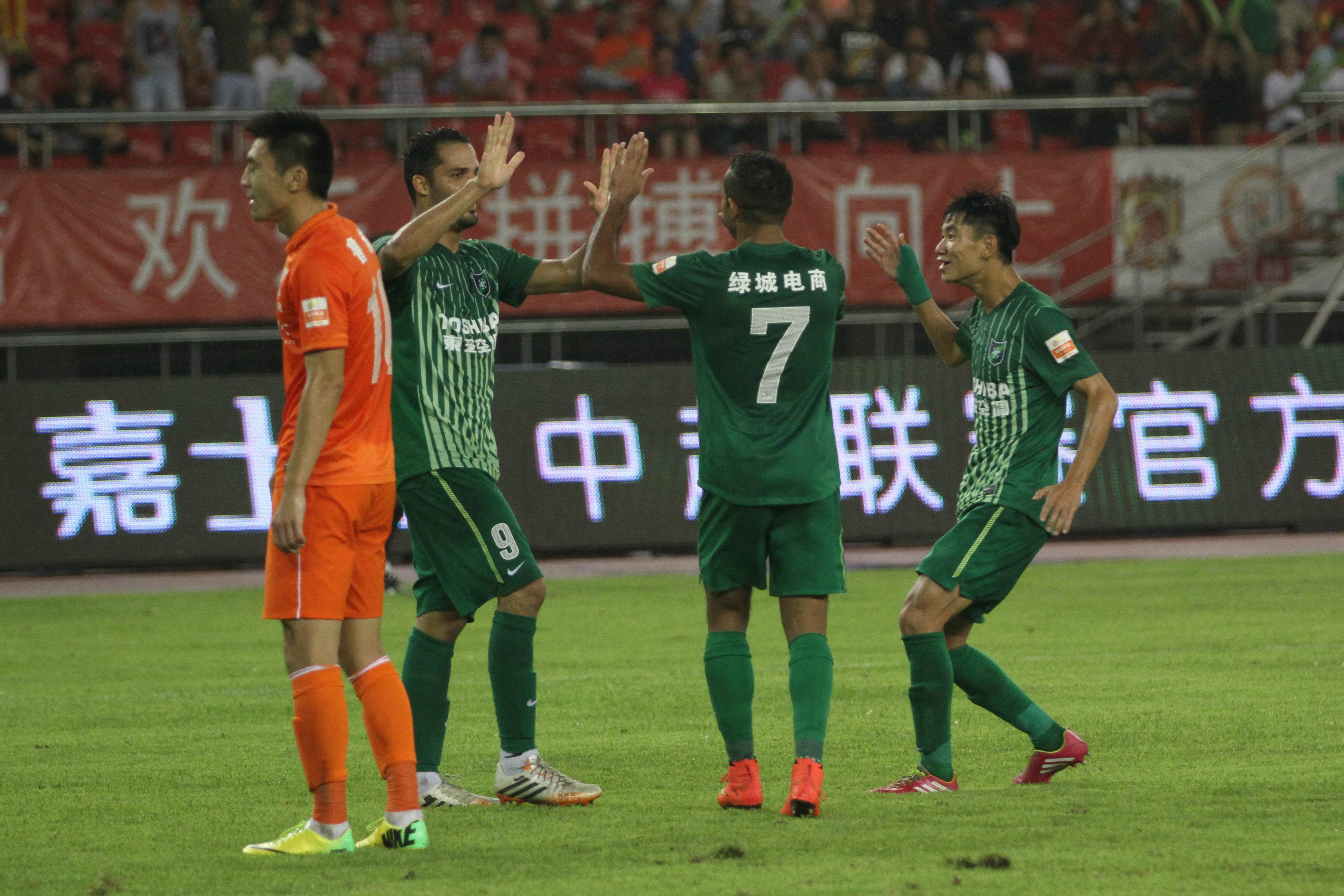 杭州绿城VS山东鲁能(6)