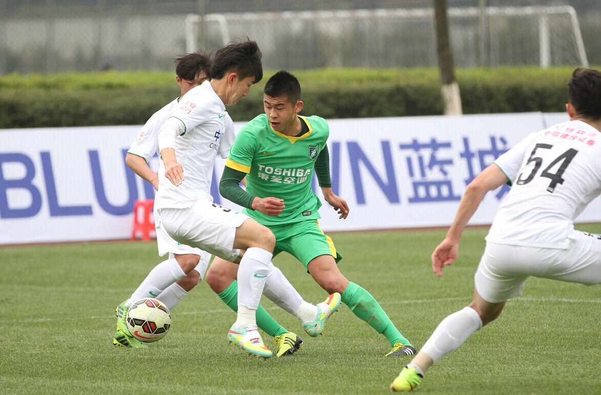 预备队联赛 杭州绿城VS北京国安(1)