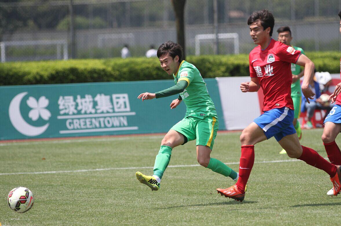 预备队联赛 杭州绿城VS河南建业(2)