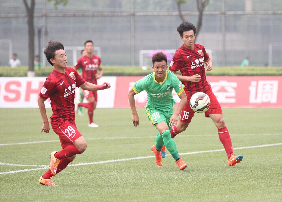 预备队联赛 杭州绿城VS上海上港(2)
