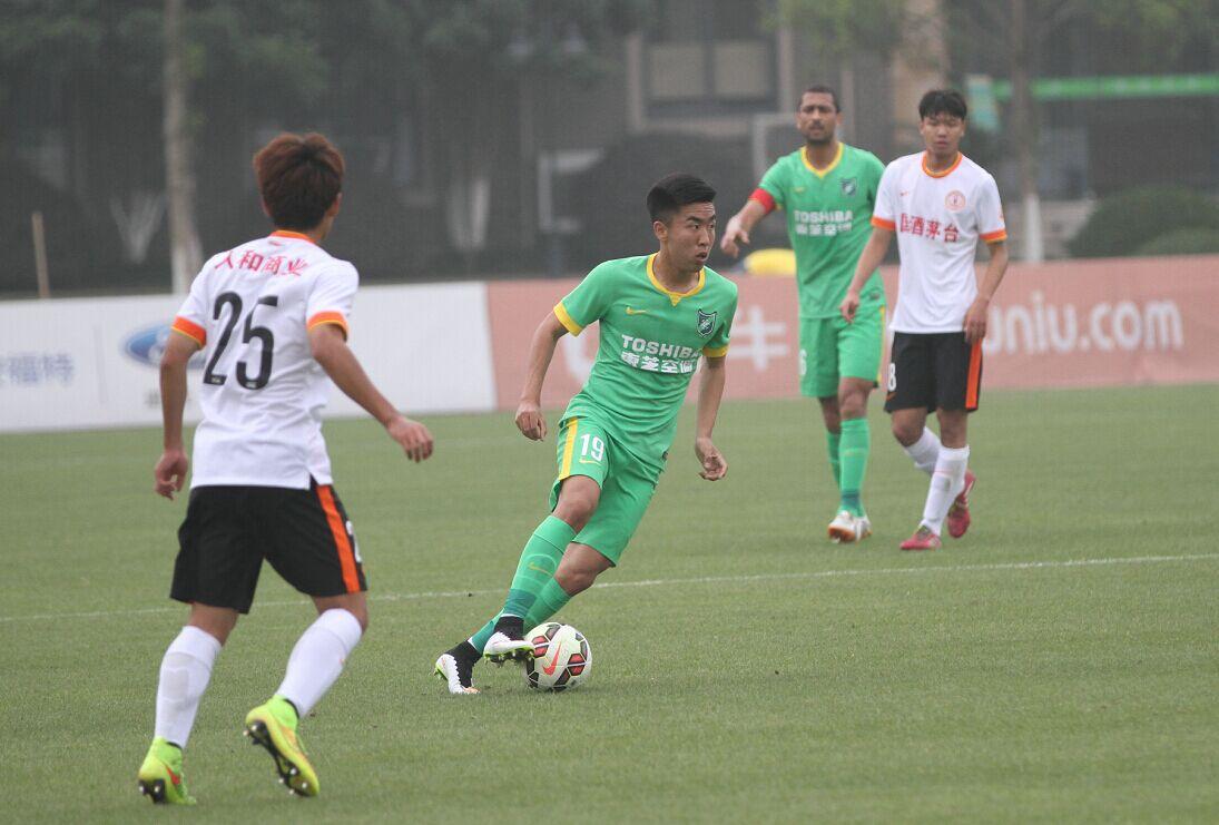 预备队联赛 杭州绿城VS贵州茅台(1)