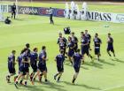 意大利队训练备战世预赛