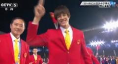 开幕式最帅中国选手私照 亮相1秒赢无数芳心(组图)