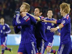 视频集锦-本田传射香川中柱 日本3-2客胜比利时
