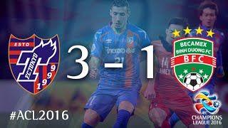 视频集锦-门将诡异乌龙 东京FC3-1逆转越南平阳