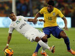 视频录播-国际足球友谊赛 南非vs巴西上半场