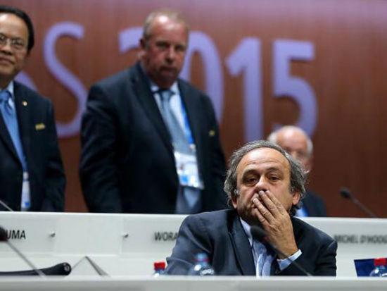 视频-普拉蒂尼放弃FIFA主席竞选:没做错任何事