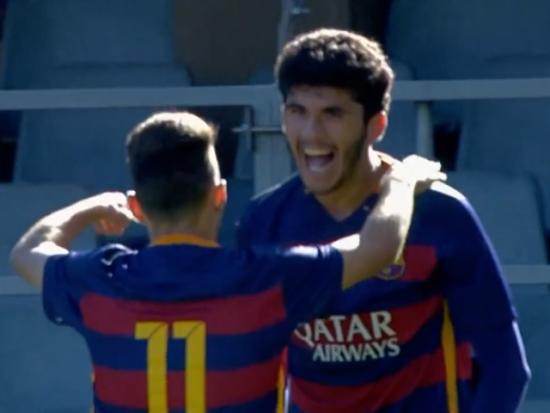 视频-青年欧冠小组赛10佳球 两小将1v5复刻梅西破门