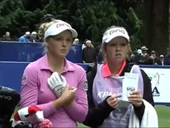 女子PGA锦标赛次轮集锦 亨德森半程领先