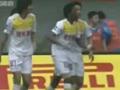 视频集锦-张成林偷袭卡隆点射 中超皇马止步两连胜