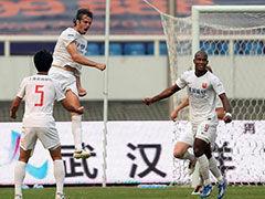 视频集锦-伊班处子球登贝莱染红 卓尔0-1上港