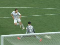 进球视频-杜威停球失误遭抢断 海森单刀鬼魅一击