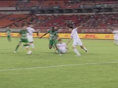进球视频-阿甘突破直传禁区 拉蒙破门扳回一球