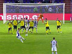 视频-西甲第9轮5佳球 任意球大PK演绎完美弧线
