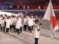 视频-日本代表团入场安倍鼓掌 央视3解说直接无视