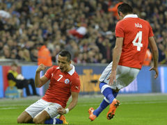 视频集锦-桑切斯梅开二度 英格兰主场不敌智利