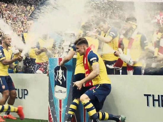 视频-足总杯官方唯美大片 重温阿森纳卫冕之路