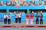 网球女双中华台北夺冠