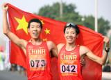男子20公里竞走王浩夺冠
