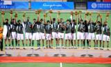 男子曲棍球巴基斯坦队夺冠