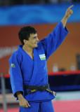 柔道男子60公斤乌兹选手夺冠