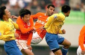 山东1-0陕西 鲁能09中超首胜