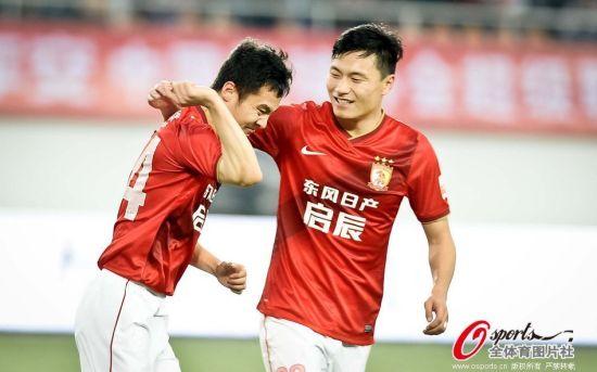 郜林与冯仁亮曾经都是申花的台柱子