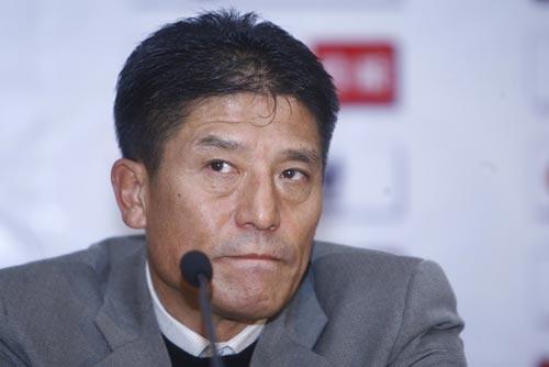 图文-[中超]北京国安1-0山东鲁能铁帅还在想冠军